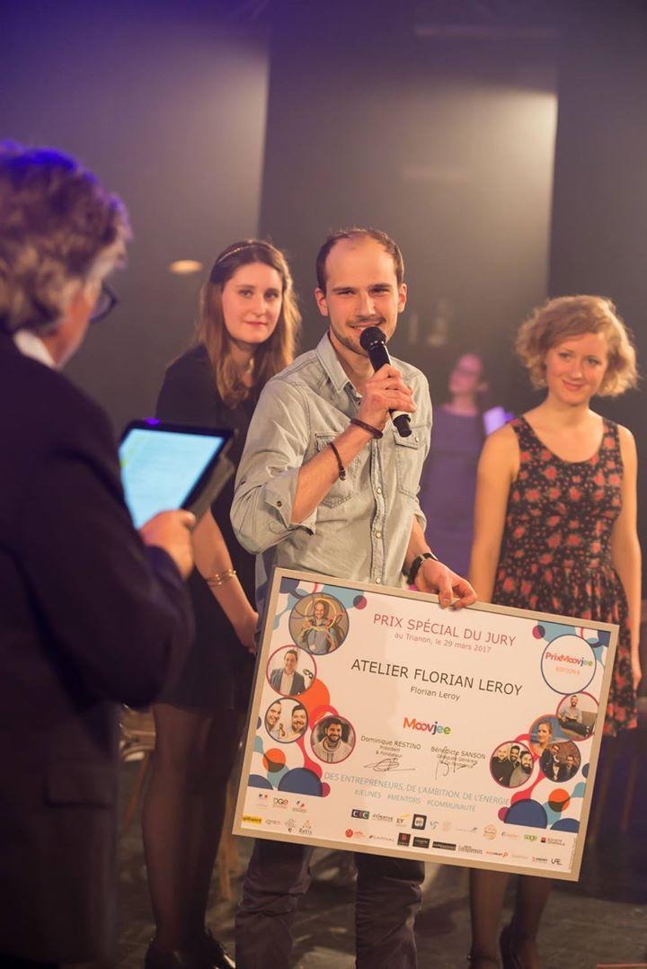 Lauréat prix National Moovjee 29 Mars 2017